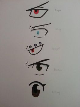 Dragon Slayer Eyes - Fairy Tail by An1meAn1me
