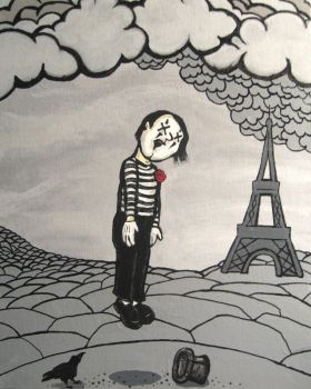 death of a mime - number one by meandtodd