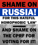 Shame on Russia by Party9999999