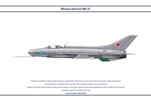 MiG-21 USSR 1 by WS-Clave