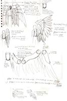 Doom Wings Construct Sketches by EuTytoAlba