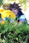 sora cosplay by HikkiKatastrophic