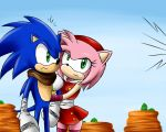 Sonic and Amy by KrlosKmask