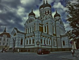 Russian church by MouseClock