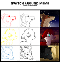 Switch Around Meme by Coranila