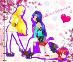 Contest entry: Yellow, Blue and Red by keito-ame