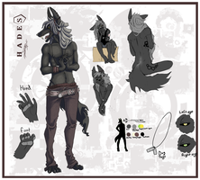 Character design: Hades by o0Syringes0o