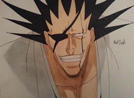 Zaraki Kenpachi by mddrawing