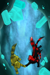.:Crystal Caves:. by Spottedfire-cat