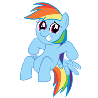 Rainbow Dash Vector (S01E23) by GaniGhost
