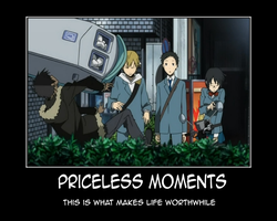 Priceless Demotiv Durarara by AoiNeko-chan