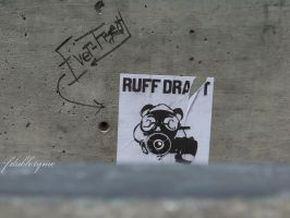 Ruff Draft Clothing Wheatpaste by freddydubletyme