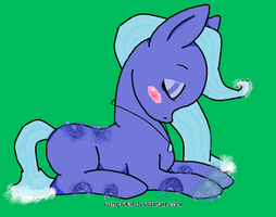 WATER PLUS GLOWING PONY ADOPT(closed) by snoopyluver5