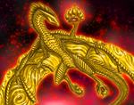 Golden Dragon by pluto-my-way