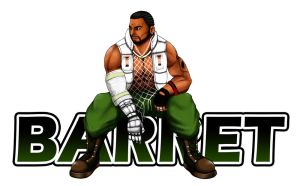 Barret Wallace of FF7 by dontmockmei