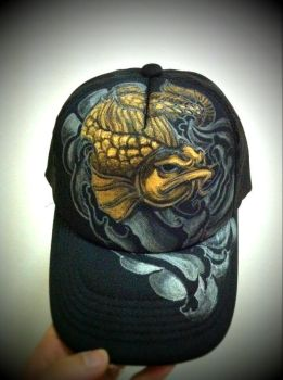 Arowana on cap by terryrism