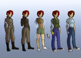 Character Page - Faraday by ComickerGirl