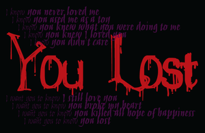 Digital Typography You Lost3 by ConfusedLittleKitty