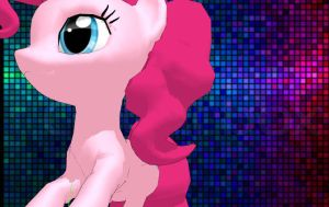 Pinkie Pie (MMD) by lagoonafan