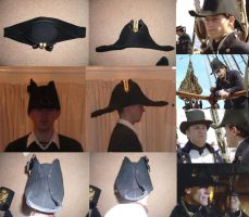 Royal Navy hat 1800's by GeneralVyse