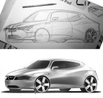 Saab Feedback sketch by slime-unit
