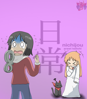 Nichijou (Why did you do this to me!!!) by ColorDrake