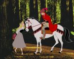 Briar Rose's Forest Meeting by snowsowhite
