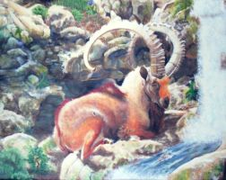 The Great Ibex by Faeyne-Silvercloud