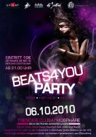 party flyer by foxxycleopatra