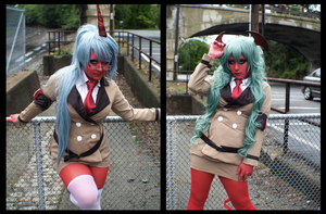 Scanty and Kneesocks VI by RaquelQuiros