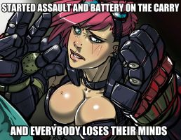 Everybody loses their minds VI by Ganassa