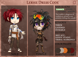 RC: Lerise Dress Code by happyfayes