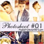 Justin Bieber Photoshoot by PaolaM