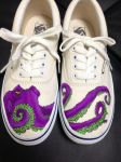 Custom painted Octopus vans by dannyPs-customs