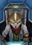 Fox McCloud by stickerb
