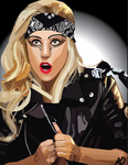 Lady Gaga  Vector by FireFly321