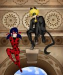 Ladybug and Chat Noir by je-xan