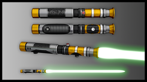 Consular Lightsaber by broodofevil