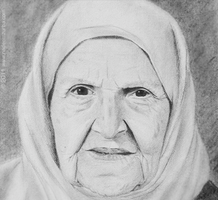 Grand-mother R.I.P. by NadeemZurba