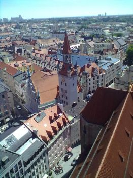 Top View of Munich 29 by Saphierra