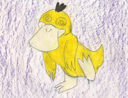 One Dizzy Psyduck by kingofthedededes73