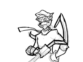 Sly cooper practice by acemaster34