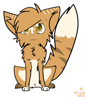 Leafpool the medicine cat by KatWolfKid