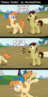 Clumsy Little Twinky by AleximusPrime