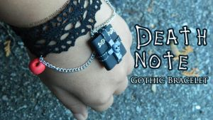 Death Note Ryuk Bracelet (tutorial) by NerdEcrafter