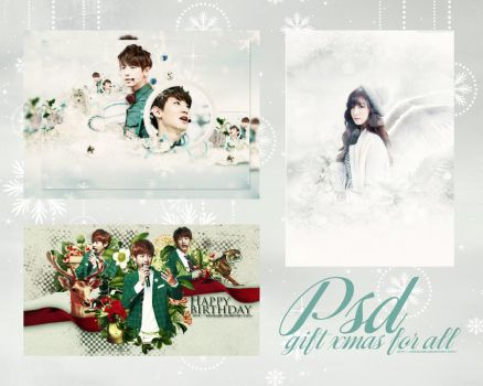 [ PSD ]Gif X-mas For All by eringuyen