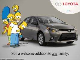 Simpsons Corolla 2014 by daanton