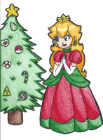 Have a Peachy Christmas! by VioVi