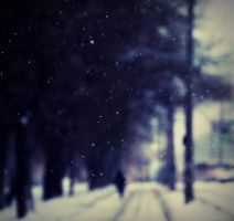 lonely winter by Kanashii-Hito