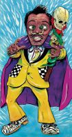 Screamin' Jay Hawkins by oh-the-humanatee
